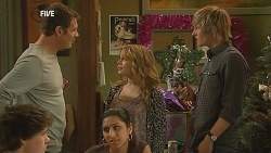 Michael Williams, Natasha Williams, Andrew Robinson in Neighbours Episode 6070