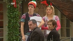 Zeke Kinski, Karl Kennedy, Donna Freedman, Susan Kennedy in Neighbours Episode 6070