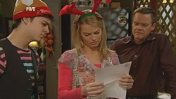 Zeke Kinski, Donna Freedman, Paul Robinson in Neighbours Episode 6070