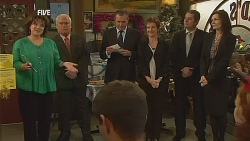 Lyn Scully, Lou Carpenter, Karl Kennedy, Susan Kennedy in Neighbours Episode 6070