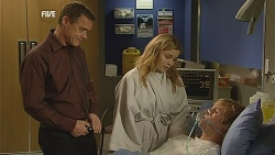 Paul Robinson, Natasha Williams, Andrew Robinson in Neighbours Episode 6072
