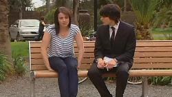 Kate Ramsay, Declan Napier in Neighbours Episode 6073