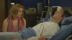 Natasha Williams, Andrew Robinson in Neighbours Episode 6073
