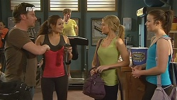 Lucas Fitzgerald, Jade Mitchell, Donna Freedman, Kate Ramsay in Neighbours Episode 6074
