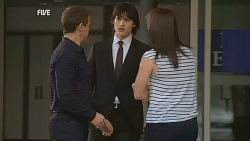 Paul Robinson, Declan Napier, Kate Ramsay in Neighbours Episode 6074
