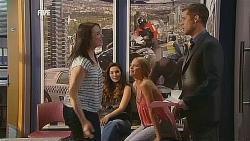 Kate Ramsay, Jade Mitchell, Donna Freedman, Mark Brennan in Neighbours Episode 6075