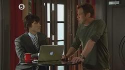 Declan Napier, Michael Williams in Neighbours Episode 6076