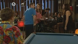 Callum Jones, Toadie Rebecchi, Sonya Mitchell, Jade Mitchell in Neighbours Episode 6077
