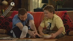 Toadie Rebecchi, Callum Jones in Neighbours Episode 6077