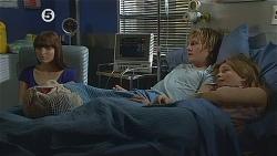 Summer Hoyland, Andrew Robinson, Natasha Williams in Neighbours Episode 6078