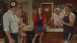 Mark Brennan, Donna Freedman, Kate Ramsay, Lou Carpenter, Lucas Fitzgerald in Neighbours Episode 6079