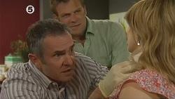 Karl Kennedy, Michael Williams, Natasha Williams in Neighbours Episode 6079