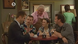 Mark Brennan, Toadie Rebecchi, Lou Carpenter, Sophie Ramsay, Lucas Fitzgerald in Neighbours Episode 6079