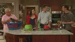 Lou Carpenter, Kate Ramsay, Mark Brennan, Lucas Fitzgerald in Neighbours Episode 6080