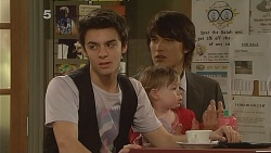 Zeke Kinski, India Napier, Declan Napier in Neighbours Episode 6080