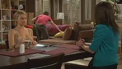Donna Freedman, Zeke Kinski, Kate Ramsay in Neighbours Episode 6081