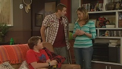 Callum Jones, Toadie Rebecchi, Sonya Mitchell in Neighbours Episode 6083