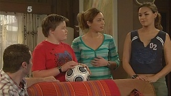 Toadie Rebecchi, Callum Jones, Sonya Mitchell, Jade Mitchell in Neighbours Episode 6083