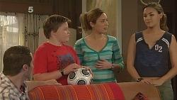 Toadie Rebecchi, Callum Jones, Sonya Mitchell, Jade Mitchell in Neighbours Episode 6083