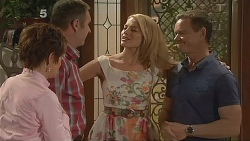 Susan Kennedy, Karl Kennedy, Donna Freedman, Paul Robinson in Neighbours Episode 6083