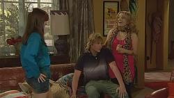 Summer Hoyland, Andrew Robinson, Natasha Williams in Neighbours Episode 6083