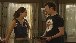Jade Mitchell, Lucas Fitzgerald in Neighbours Episode 6084