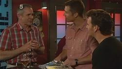 Karl Kennedy, Mark Brennan, Lucas Fitzgerald in Neighbours Episode 6085