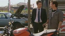 Mark Brennan, Lucas Fitzgerald in Neighbours Episode 6087