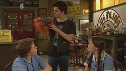 Callum Jones, Zeke Kinski, Sophie Ramsay in Neighbours Episode 6087