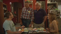 Toadie Rebecchi, Karl Kennedy, Lou Carpenter, Sonya Mitchell in Neighbours Episode 6088