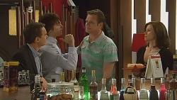 Paul Robinson, Declan Napier, Michael Williams, Rebecca Napier in Neighbours Episode 6088