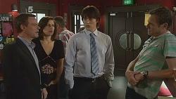 Paul Robinson, Rebecca Napier, Declan Napier, Michael Williams in Neighbours Episode 6088