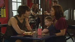 Declan Napier, India Napier, Rebecca Napier in Neighbours Episode 6089