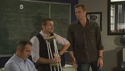 Karl Kennedy, Toadie Rebecchi, Michael Williams in Neighbours Episode 6090