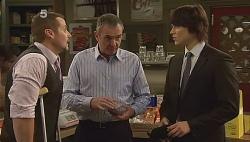 Toadie Rebecchi, Karl Kennedy, Declan Napier in Neighbours Episode 6090