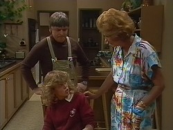 Tom Ramsay, Charlene Mitchell, Madge Mitchell in Neighbours Episode 0266