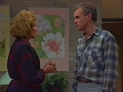 Madge Bishop, Jim Robinson in Neighbours Episode 0294