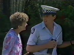 Nell Mangel, Det. Constable Garry in Neighbours Episode 0442