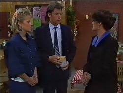 Daphne Clarke, Mike Young, Barbara Young in Neighbours Episode 0442