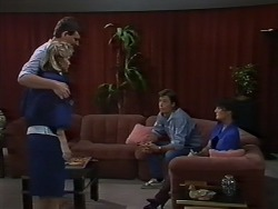Daphne Clarke, Des Clarke, Mike Young, Barbara Young in Neighbours Episode 0442