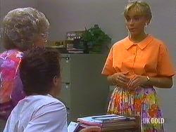 Helen Daniels, Paul Robinson, Jane Harris in Neighbours Episode 0443