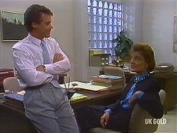 Paul Robinson, Gail Robinson in Neighbours Episode 0443