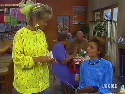 Daphne Clarke, Gail Robinson in Neighbours Episode 0443