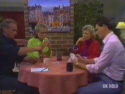 Jim Robinson, Daphne Clarke, Helen Daniels, Des Clarke in Neighbours Episode 0443