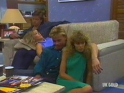 Mike Young, Jane Harris, Scott Robinson, Charlene Mitchell in Neighbours Episode 0443