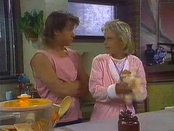 Mike Young, Daphne Clarke in Neighbours Episode 0444