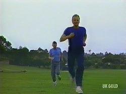 Des Clarke, Jim Robinson in Neighbours Episode 0444