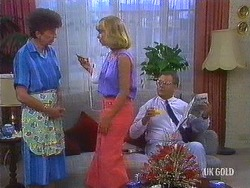 Nell Mangel, Jane Harris, Harold Bishop in Neighbours Episode 0444