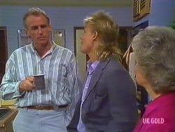 Jim Robinson, Scott Robinson, Helen Daniels in Neighbours Episode 0444