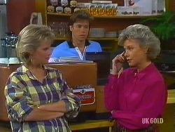 Daphne Clarke, Mike Young, Helen Daniels in Neighbours Episode 0444